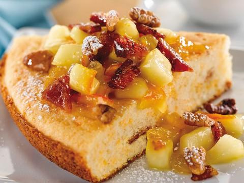 Caramelized Maple Apple Bacon Brunch Bake