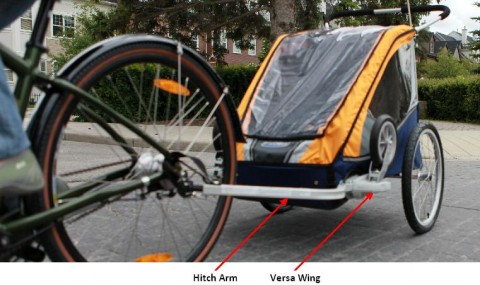 Recalled Child Bicycle Trailer