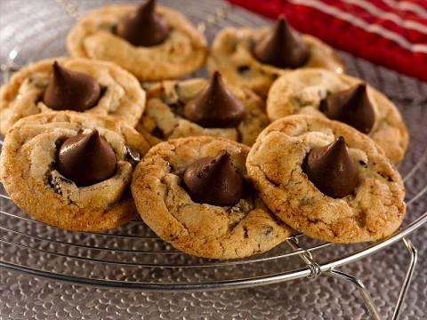 Chocolate Chip Cookies with a Surprise.