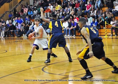 Northeast High School Eagles vs Clarksville High Wildcats