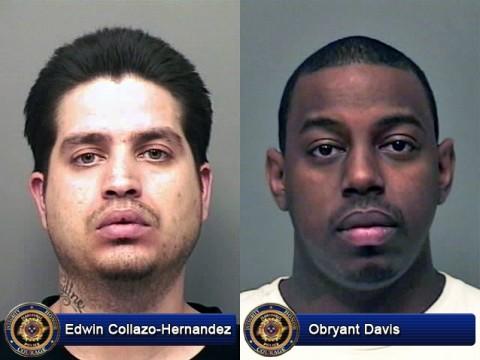 Edwin Collazo-Hernandez and Obryant Elijah Davis