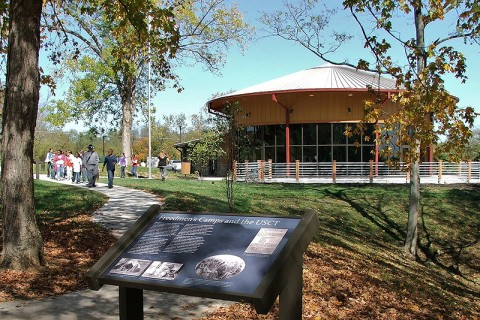 Fort Defiance Interpretive Center to commemorate the 154th Anniversary of the Surrender of Clarksville
