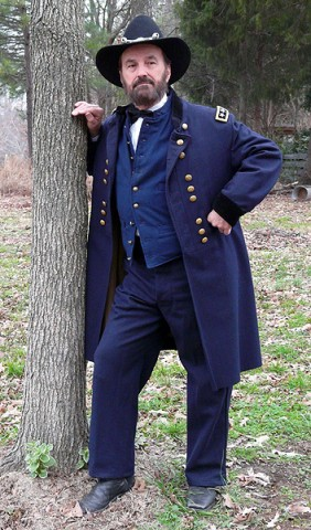 Union General U.S. Grant as portrayed by Dr. E.C. Fields