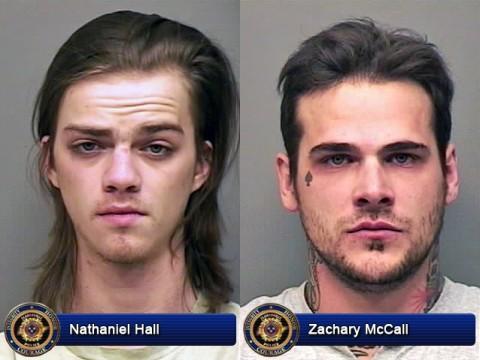Nathaniel Hall and Zachary McCall