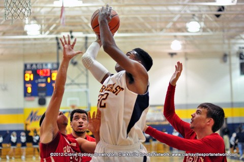 Though the Hawks kept the score close in the beginning, the Eagles flew past the Hawks in the second half for the 70-48 win.
