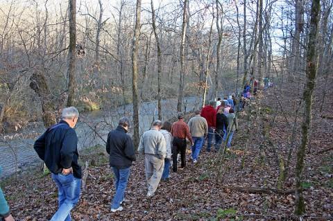 David Crockett State Park First Hike.