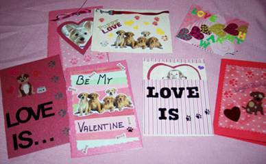 Valentine Project for Chained Dogs