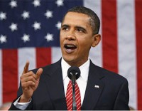 President Barack Obama delivers the 2012 State of the Union Address