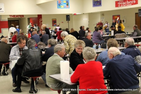 There was a large turnout for the Cunningham Volunteer Fire Department's 12th Annual Chili Supper.