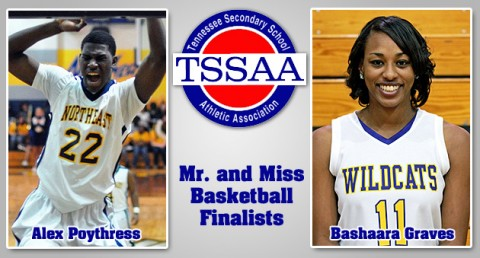 Alex Poythress and Bashaara Graves finalists for Mr. and Miss Basketball Awards