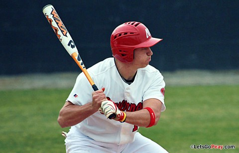 Reed Harper's walk-off home run helped the Govs finish a doubleheader sweep of Illinois State, Saturday. Austin Peay Men's Baseball. (Courtesy: Brittney Sparn/APSU Sports Information)