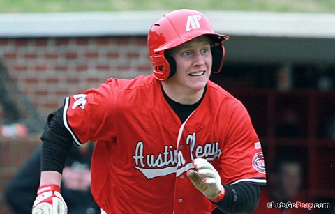 Austin Peay second baseman Jordan Hankins has been selected to USA Baseball's Collegiate National Team.  (Courtesy: Brittney Sparn/APSU Sports Information)ay's loss to Illinois State. Austin Peay Men's Baseball. (Courtesy: Brittney Sparn/APSU Sports Information)