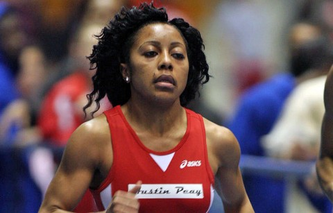 Austin Peay Women's Indoor Track and Field. (Courtesy: Austin Peay Sports Information)