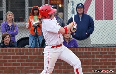 Kayla Davidson homers twice, including walkoff in nightcap, as Lady Govs sweep Trevecca. Austin Peay Women's Softball. (Courtesy: Brittney Sparn/APSU Sports Information)