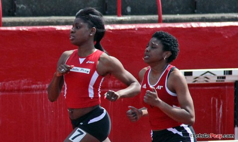 Austin Peay Women's Track and Field. (Courtesy: Austin Peay Sports Information)