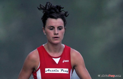 Austin Peay Women's Track and Field's Chantelle Grey. (Courtesy: Keith Dorris/Dorris Photography)