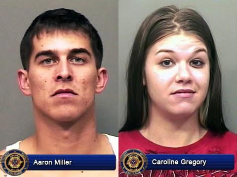 Aaron Miller and Caroline Gregory