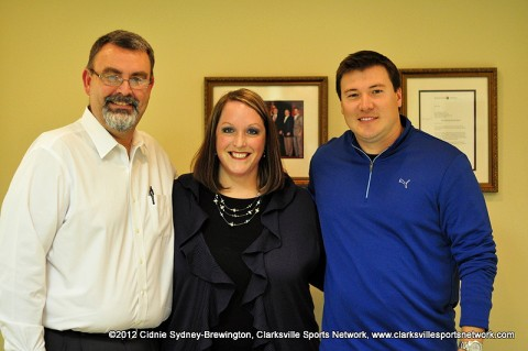 (L to R) Terry Griffen, Deanna McLaughlin and J.R Hand.