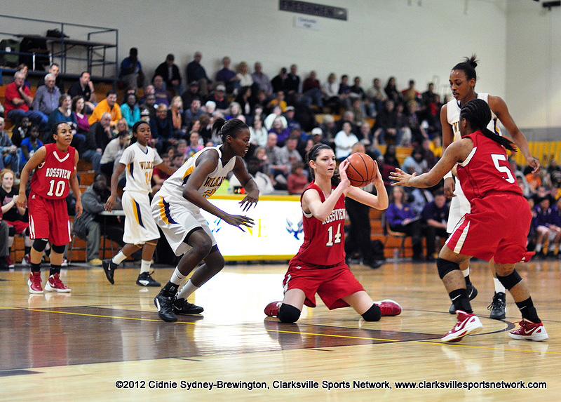 Clarksville High School Girls Basketball Clinches Fourth Straight