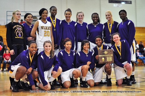 After winning the game against Rossview 64-29, Clarksville High became the District Champions.