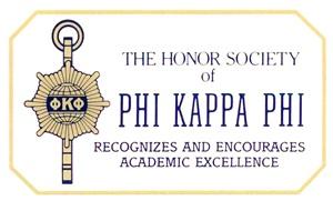 Honor Society of PHI KAPPA PHI
