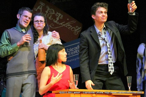 """""""I Love You, You're Perfect, Now Change,"""" is having its two final performances this weekend at the Roxy Regional Theatre."""
