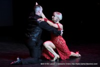 Jameson Giffis dancing the Tango with Pro Ann-Marie Fournier