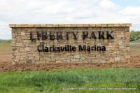 Liberty Park and Clarksville Marina