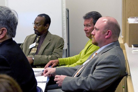 (L to R) Arthur Bing, Stan Williams and Mark Riggins participated in the Transit Citizen Leadership Academy.
