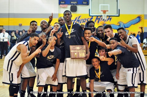 Northeast High School Eagles, the 2011-12 District 10-AAA Tournament Champions.
