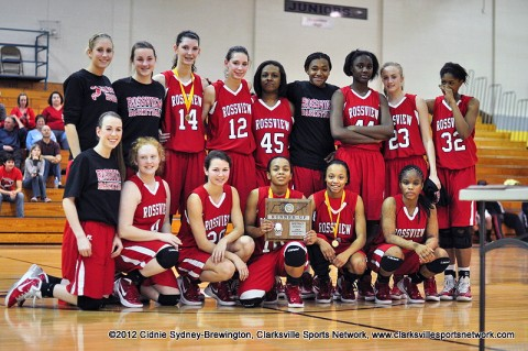 After losing to Clarksville High 64-29, Rossview High School became the runner up in the District.