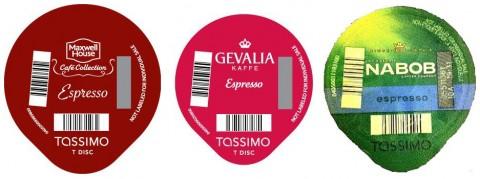 Tassimo Espresso T Discs recalled.