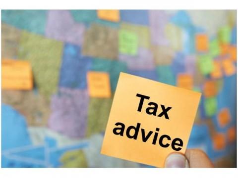 Free tax advice day.