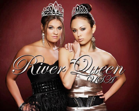 2011 River Queen Giselle Fontenot (left) and River Teen Sarah Gross (right).