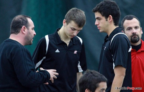 Austin Peay Men's Tennis. (Courtesy: Mateen Sidiq/Austin Peay)