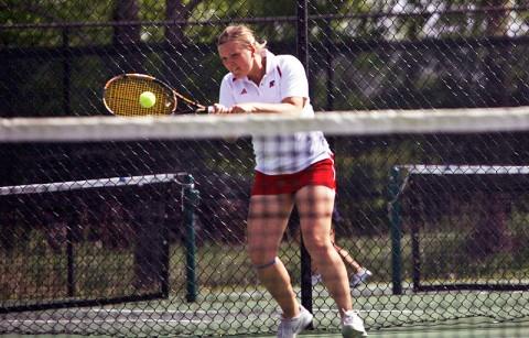 Senior Vanja Tomic won her ninth straight match against South Alabama. Austin Peay Women's Tennis. (Courtesy: Austin Peay Sports Information)