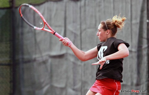 Austin Peay Women's Tennis (Courtesy: Brittney Sparn/APSU Sports Information)