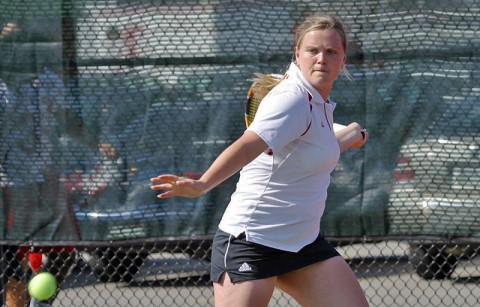 Senior Vanja Tomic has won 16 straight singles matches heading into this weekend. Austin Peay Women's Tennis. (Courtesy: Austin Peay Sports Information)