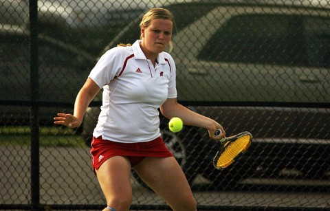 Senior Vanja Tomic continued her dominance at No. 1 singles for Austin Peay winning her 17th-straight match. Austin Peay Women's Tennis.  (Courtesy: Austin Peay Sports Information)