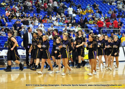 Clarksville High wins 53-47 over Cherokee and will go on to play in Friday's Semifinal game.