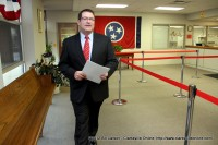 Senate Candidate Mark Green shortly after filing his petition to run for the Tennessee State Senate against Incumbent Sen. Tim Barnes