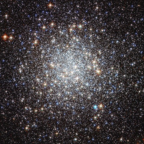 NASA's Hubble Space Telescope captured this detailed photo of the Messier 9 Star Cluster. (Image credit: NASA & ESA)