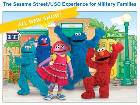 Sesame Street and USO Experience for Military Families