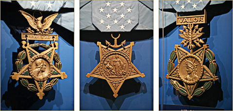 The 3 Present Day Variations of the Medal Of Honor (Congressional Medal of Honor Society)