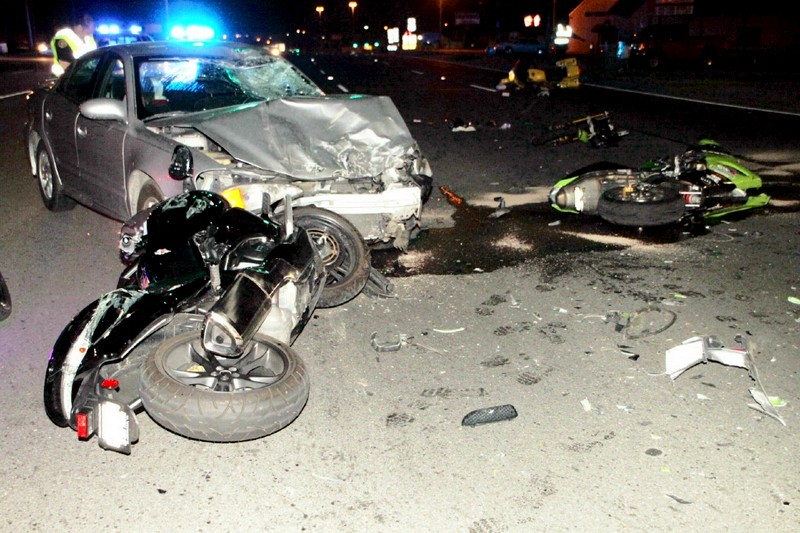 Clarksville Police Respond To A Motor Vehicle Crash