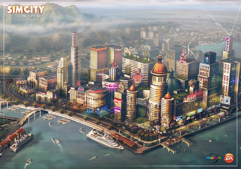 A new SimCity to be released sometime in 2013.