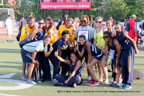Northeast High School came in first place amongst the Girl's Teams.