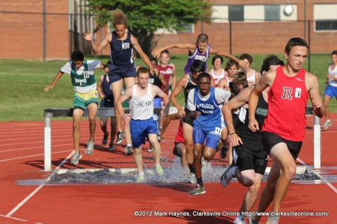 Boy's 2,000m Steeplechase.