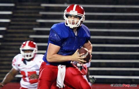 Austin Peay Football. (Courtesy: Brittney Sparn/APSU Sports Information)