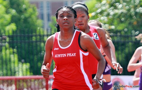 Austin Peay Women's Track and Field. (Courtesy: Brittney Sparn/APSU Sports Information)